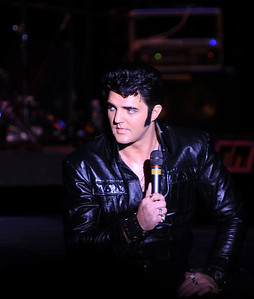 Ryan Pelton's performance of the '69 comeback Elvis was perfect - didn't miss a thing..