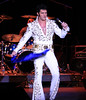 Although I enjoy a good singing voice, great lyrics and sex appeal as much as the next woman, I just can't comprehend why women completely lose their minds over a guy PRETENDING to be Elvis - nearly as much as they did for the real Elvis.  The scarves were flying - and the sweatier they were - the more the women screamed.