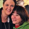 Angela and Olivia at Emerald Downs 2011
