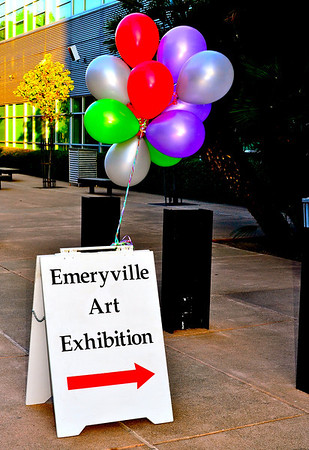 Emeryville Art, Opening Night, 2011