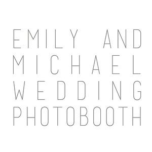Emily+Michael Wedding Photobooth