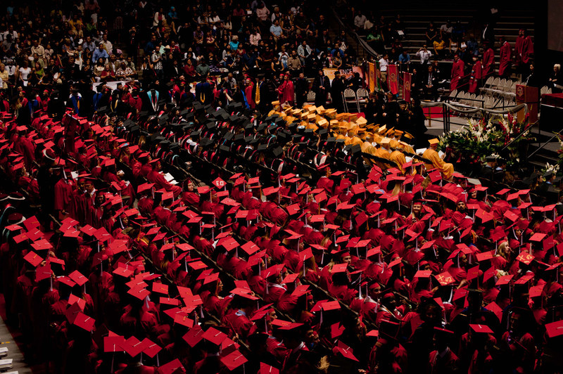 Graduation at the Pit.