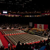 The Pit, before all of the graduation festivities.