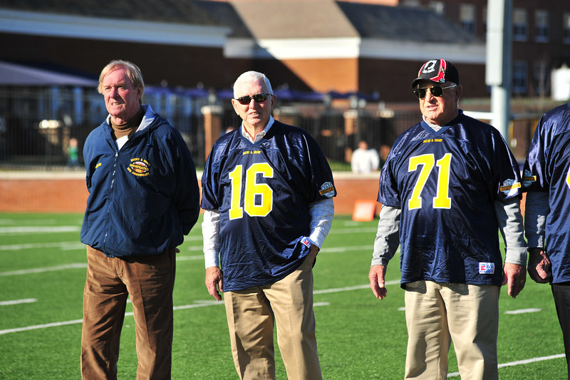 50th anniversary reunion for the unbeaten 1962 football team, Emory&Henry