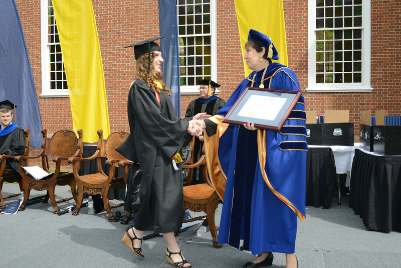 Emory&Henry Commencement 2012