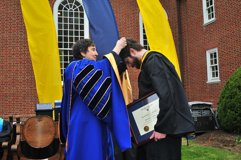Emory & Henry College's 165th commencement ceremony