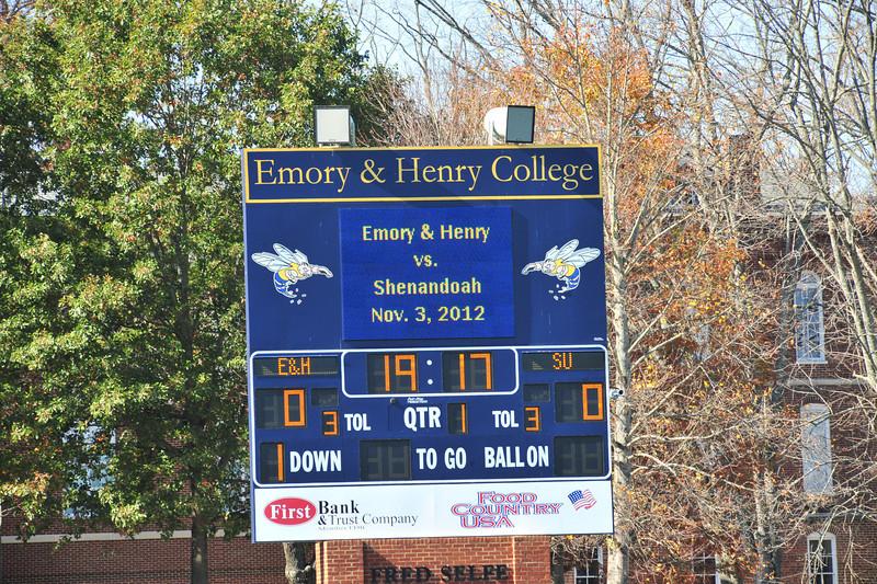 Emory & Henry vs Shenandoah
