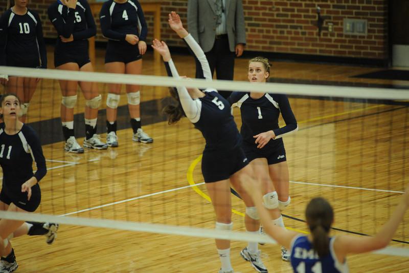 E&H vs. EMU Volleyball  2010