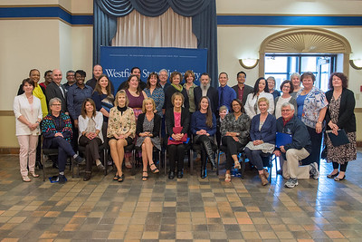 Employee Recognition Breakfast and Service Award Ceremony at Westfield State University, May 2017