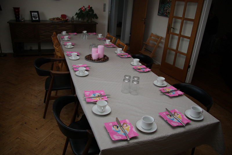Fint fødselsdagsbord