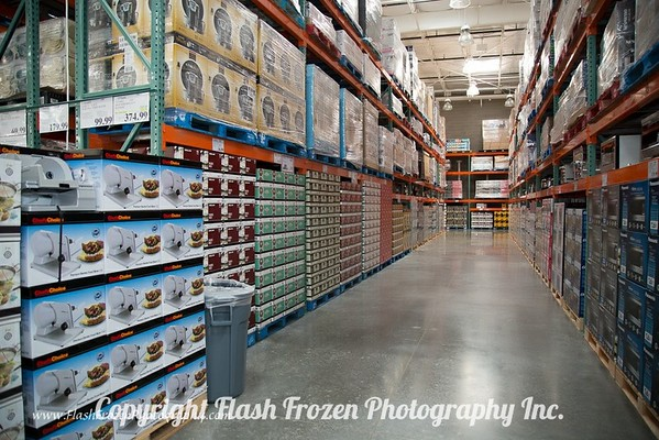 Big Wide Aisles Stacked perfectly!