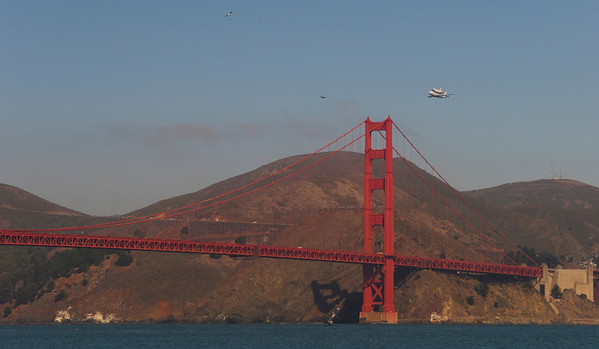 Endeavor over San Francisco 2012