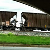 Coal-filled Rail Cars (although you can't see it in this picture).<br /> Catlettsburg, KY<br /> (from Tim Meko, NEED's Creative Director)