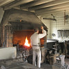 Blacksmith - uses coal-fueled fire to heat iron and shape it.<br /> Williamsburg, VA (from Hallie Mills, NEED's Curriculum Director)