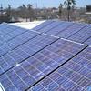 Large Scale Solar array on top of Satori School. Nina Corley's class Galveston Island Texas