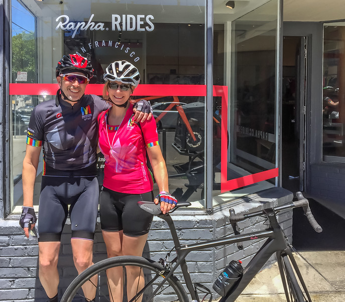The Rapha San Francisco clubhouse