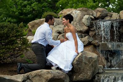 Wedding Shoot Out: Models Sarah and David