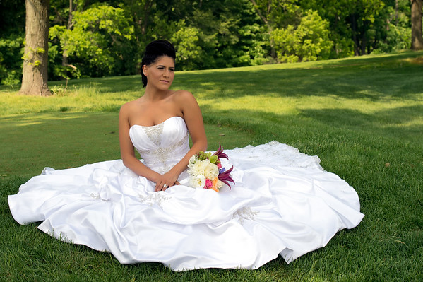 Wedding Shoot Out:  Model Tristen.