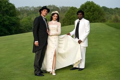 Wedding Shoot Out: Models Lynette, Steve & Andre