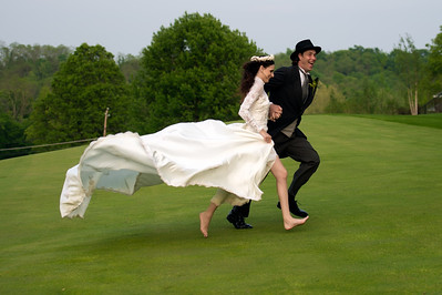 Wedding Shoot Out: Models Lynette and Steve - running for their ...?