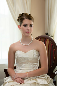 Wedding Shoot Out:  Model Kasey H. dT.