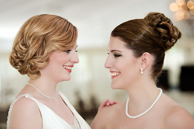 Wedding Shoot Out:  Models Kasey H. dT. and Melissa W.