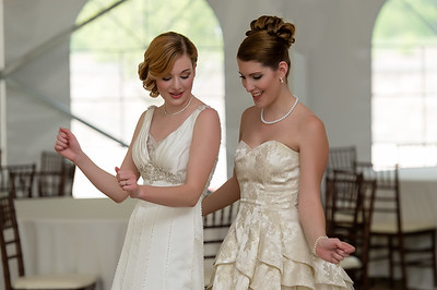 Wedding Shoot Out:  Models Kasey H. dT. and Melissa W. - Dancing steps