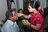 Vini putting 'kankoo tika' on Prem