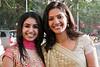 Jaina & Poorva<br /> gathering at Diamond Garden before proceeding to the wedding venue