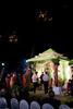 Chori (mandap) with lit coconut tree and the moon<br /> best seen in XLarge size
