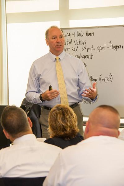 Campus Law Enforcement Training Session