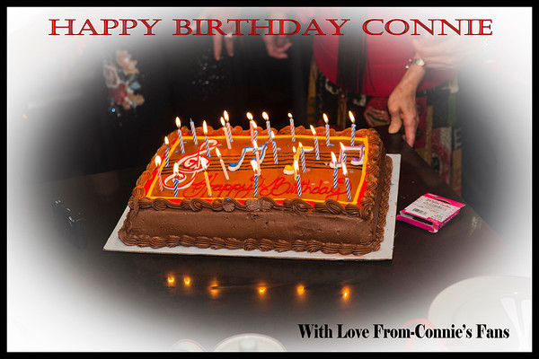 Happy Birthday Connie