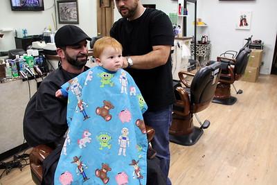 Enzo's 1st Haircut