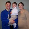 Eric, Evan & Emily (pregnant with Eli)