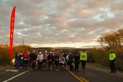 Escalante Canyons Marathon The beautiful Sunrise start of our Marathon made for some great Imagery and Amazing views for our runners. GET SET,..