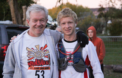 Escalante Canyons Marathon 2nd Year running the Marathon. Last year both had a Great Finish!!!