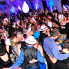 Walt Hester | Trail Gazette<br /> Champagne, balloons, music and New Year's kisses mark midnight at the concert hall. The Stanley Hotel hosted the New Year's Eve event.