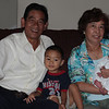 Papa, Sean (Ethan's big brother), Grandma, and Ethan