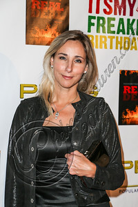 HOLLYWOOD, CA - OCTOBER 19:  Countess Michelle Czernin Von Chudenitz arrives at the after party for Evander Holyfield's 50th birthday celebration on October 19, 2012 in Hollywood, California.  (Photo by Chelsea Lauren/WireImage)