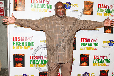 HOLLYWOOD, CA - OCTOBER 19:  Boxer Henry Tillman arrives at the after party for Evander Holyfield's 50th birthday celebration on October 19, 2012 in Hollywood, California.  (Photo by Chelsea Lauren/WireImage)