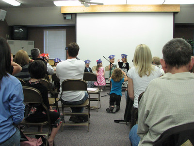 Eva's preschool graduation