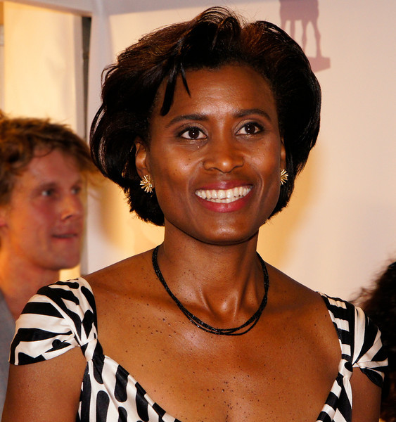 Laetitita Griffith, voorzitter van de jury van het Nederlandse Film Festival 2011 tijdens het Gala van de Nederlandse film waarbij de Gouden Kalveren worden uitgereikt.