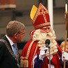 Sinterklaas is being received by the mayor in almost every town and village in Holland.