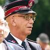 Er waren veel vertegenwoordigers van het Leger des Heils aanwezig bij het eerbetoon aan Majoor Bosshardt.
