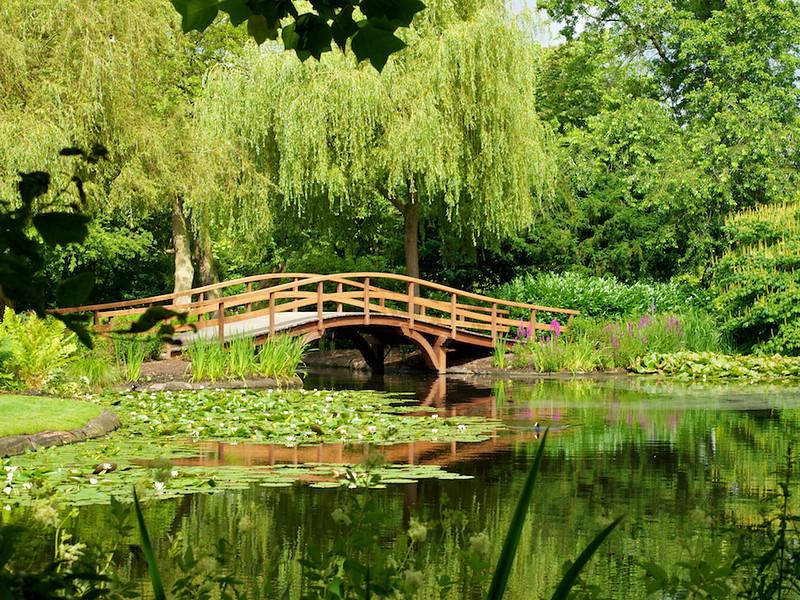 Foto van de brug gemaakt een dag voordat deze werd vernoemd naar Majoor Bosshardt.