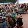 Met name het Metropole Orkest trok heel erg veel publiek naar het Stadspleinfestival 2012