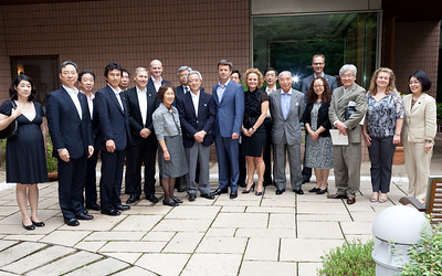 On June 13, 2011, HRH Crown Prince Frederik attended a private meeting at the residence with participation of the Cabinet Minister for Disaster Relief, Minister Matsumoto, as well as representatives from the affected areas in Tohoku, selected NGO's and private companies as well as individuals engaged in the disaster relief efforts.