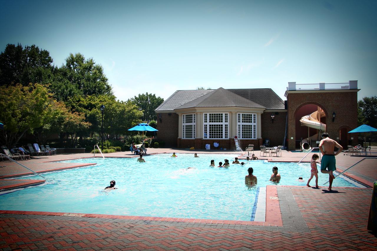 vacation resort pool promo