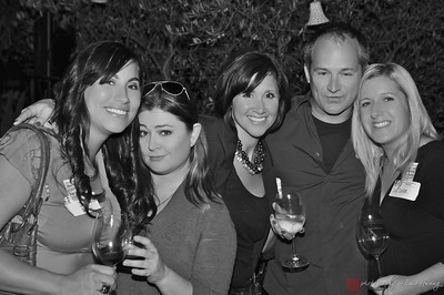 Friends at the Joint Meetup at Ceja Winery
