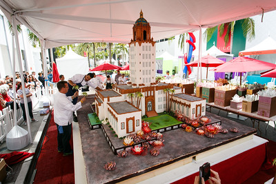 Guittard Chocolate Cake for the Beverly Hills Centennial Celebration
